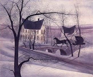 CanadaGooseGallery-Waynesville-Ohio-pbuckleymoss-etching-limitededition-landscape-winter-buggy