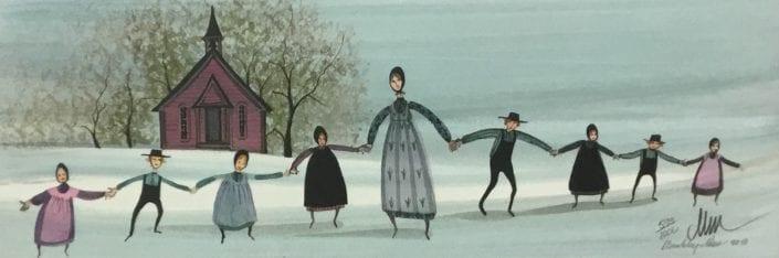 Teacher-School-Children-P-Buckley-Moss-art-Print-limited-edition