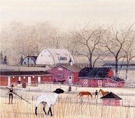 homedecor-Vintage-lamb-pbuckleymoss-children-limitededition-print-art-barn