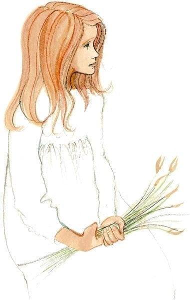 PBuckleyMoss-Waynesville-Ohio-CanadaGooseGallery-Art-Artist-LimitedEdition-Print-Child-Daughter-Flower