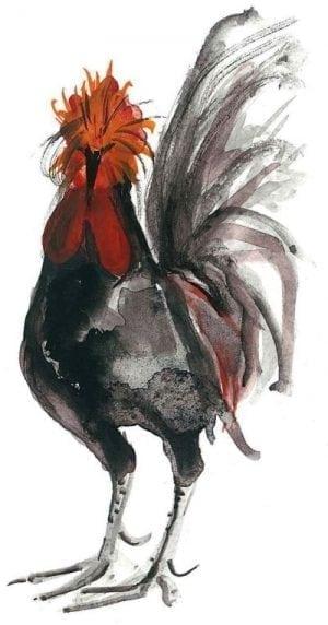 PBuckleyMoss-Waynesville-Ohio-CanadaGooseGallery-Art-Artist-LimitedEdition-Print-Rooster