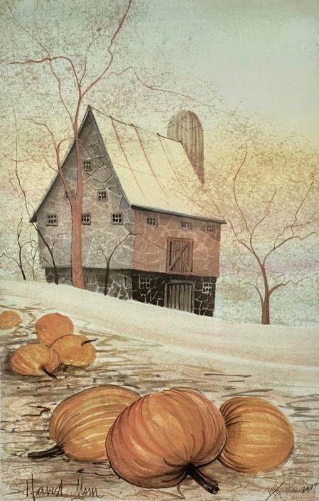 p-buckley-moss-harvest-morn-art-print