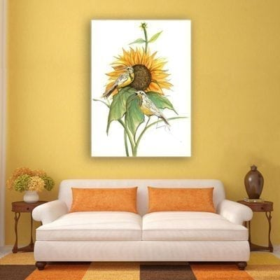 PBuckleyMoss-Waynesville-Ohio-CanadaGooseGallery-Art-Artist-LimitedEdition-Print-SongOfTheSunflower