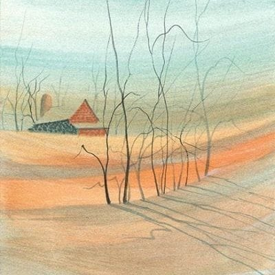 Art-Artist-PBuckleyMoss-CanadaGooseGallery-WaynesvilleOhio-LimitedEdition-Print-HomeDecor-Decorating-landscape-trees-barn-farm