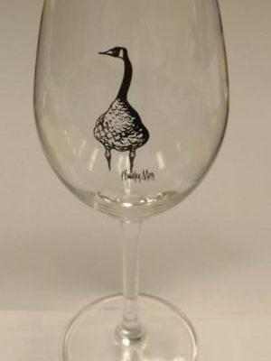 pbuckleymoss-gifts-collectable-wine-glass-CanadaGooseGallery-Waynesville-Ohio