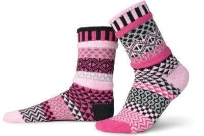 Solmate, socks, Valentine, BreastCancerSupport-Pink