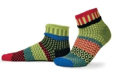 Solmate Snapdragon Quarter Sock