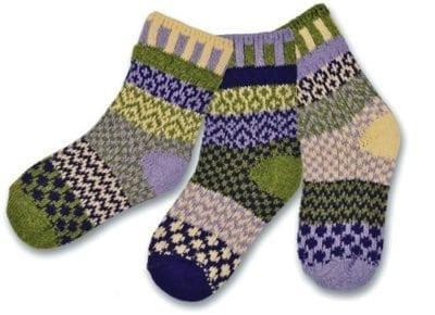 Solmate Caterpillar Kids Socks.