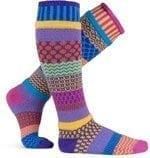 Solmate Carnation Knee Socks, colorful, comfortable, stylish and warm.