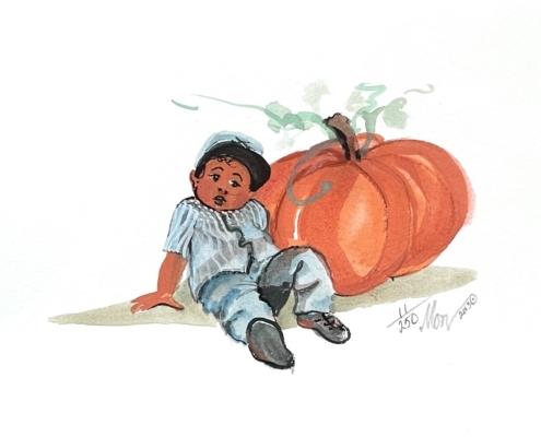 p-buckley-moss-our-liittle-pumpkin-art-print