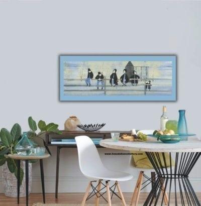 Home Decor Dining Blue