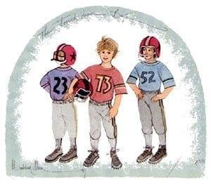 TouchdownBoys-Football-Sports-pbuckleymoss-imited-edition-boy-prints-3 boys-football