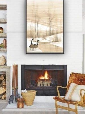 Art, Artist, P Buckley Moss, Canada Goose Gallery, Waynesville, Ohio, Limited Edition, Print, Décor, Decorating,