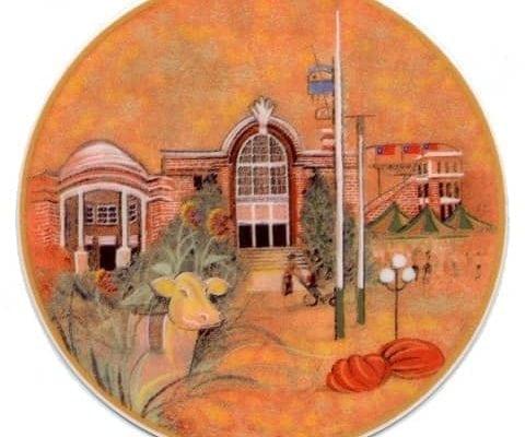 RememberingTheIowaStateFair-Art-Artist-P Buckley Moss-Canada Goose Gallery-Waynesville, Ohio-Limited Edition-Ornament-Home Décor-Decorating-Gift