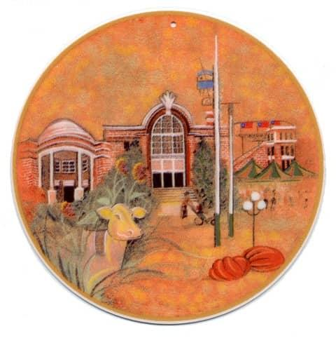 RememberingTheIowaStateFair-Art-Artist-P Buckley Moss-Canada Goose Gallery-Waynesville, Ohio-Limited Edition-Ornament-Home Décor-Decorating-Gift