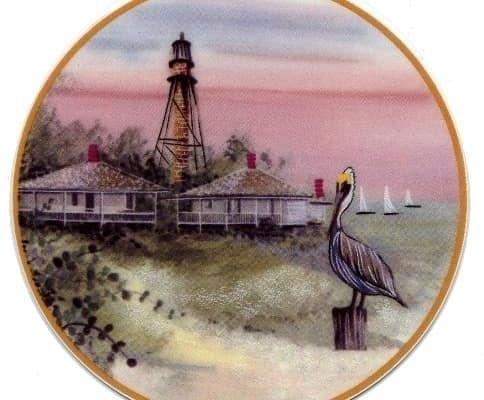 SanibelLight-pbuckleymoss-ornament-limitededition-sanibel-island