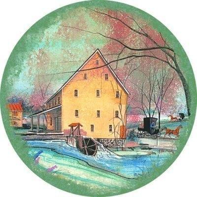 SilverLakeMill-CanadaGooseGallery-WaynesvilleOhio-pbuckleymoss-ornament-limitededition-silver-lake-spring
