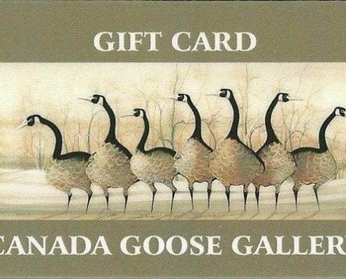 Gift Cards Available at Canada Goose Gallery in Waynesville, Ohio.