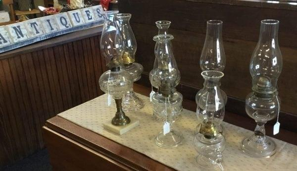Antiques-WaynesvilleOhio-BrassLantern-lamps