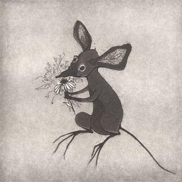 CanadaGooseGallery-WaynesvilleOhio-pbuckleymoss-etching-limitededition-mouse-CanadaGooseGallery-Waynesville-Ohio