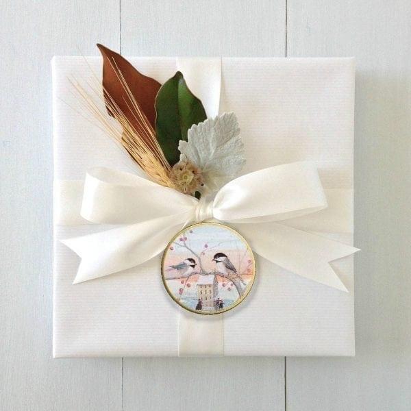 CanadaGooseGallery-WaynesvilleOhio-PerfectGiftWrap-Art-Pbuckleymoss-Ornaments-bird