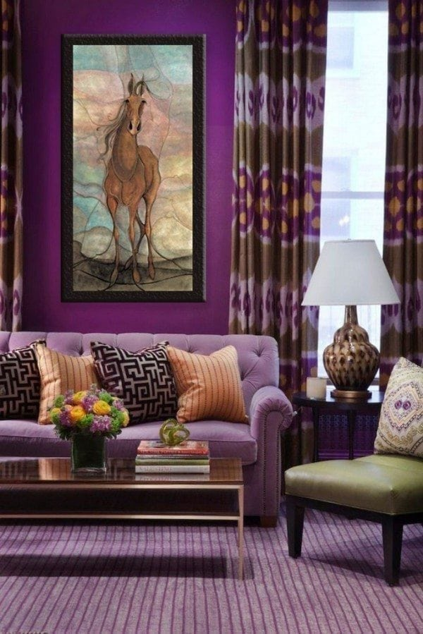 Art-PBudkleyMoss-limitededition-WinterPlum-Giclee-Print-Horse
