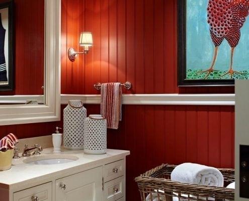 CanadaGooseGallery-Waynesville-Ohio-Swanky-Rooster-Bathroom-Homeinterior-art-PBuckleyMoss-art-Caliente-limitededition
