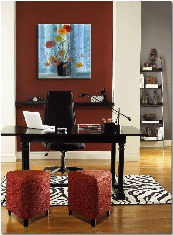 CanadaGooseGallery-Waynesville-Ohio-Homeinterior-art-PBuckleyMoss-art-Caliente-limitededition-Brightening-the-day