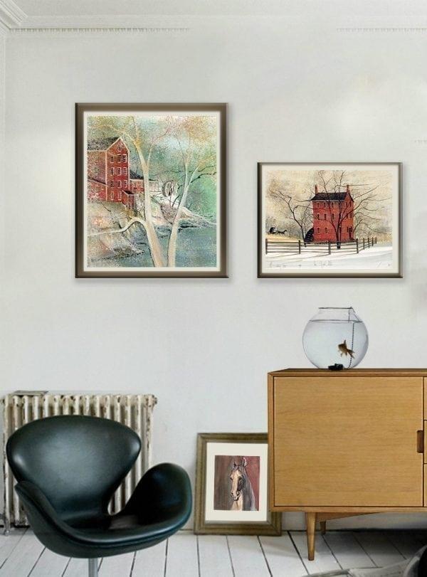 CanadaGooseGallery-Waynesville-Ohio-Clifton-Mill-Homeinterior-art-PBuckleyMoss-art-Caliente-limitededition