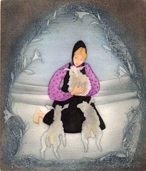 Etching-Lamb-Art-PBudkleyMoss-limitededition