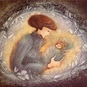 Etching-Limitededition-PBuckleyMoss-Art-Mother-Child