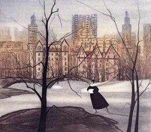 Etching-Limitededition-PBuckleyMoss-Art-Centralpark-Newyork