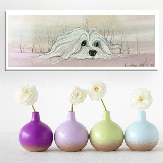 Dog-CanadaGooseGallery-Waynesville-Ohio-Coloroftheyear-pbuckleymoss-art-limitededition-print-giclee-Quilting-Original-watercolor-Painting-UltraViolet