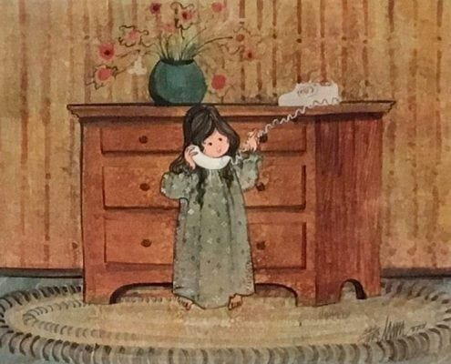 CanadaGooseGallery-Waynesville-Ohio-girl-pbuckleymoss-limited-edition-print-rare-signed-numbered