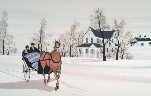 CanadaGooseGallery-WaynesvilleOhio-Horse-Buggy-nature-interiordesign-pbuckleymoss-art-limitededition-prints-Silkscreen