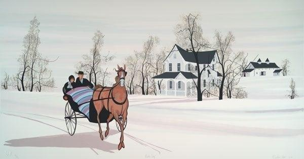 CanadaGooseGallery-WaynesvilleOhio-Horse-Buggy-nature-interiordesign-pbuckleymoss-art-limitededition-prints-Silkscreen