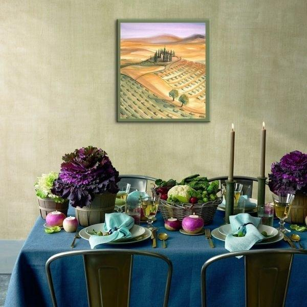 Dining-villa-interiordesign-pbuckleymoss-art-limitededition-prints