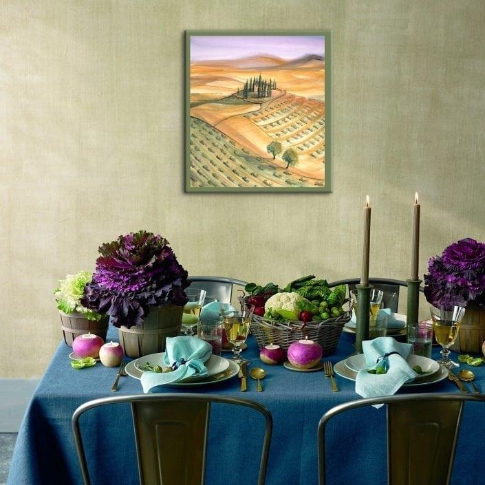 Dining-villa-interiordesign-pbuckleymoss-art-limitededition-prints