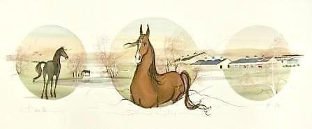 CanadaGooseGallery-WaynesvilleOhio-horse-virginia-pbuckleymoss-limitededition-art-print