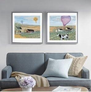 Homedecor-limited-edition-prints-pbuckleymoss-art-cow-summer