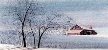 CanadaGooseGallery-WaynesvilleOhio-barn-pbuckleymoss-linited-edition-prints-rare