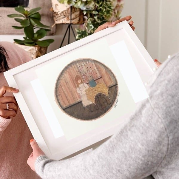 CanadaGooseGallery-Waynesville-Ohio-limitededition-print-pbuckleymoss-Linda-art-mint-rare-framed-art