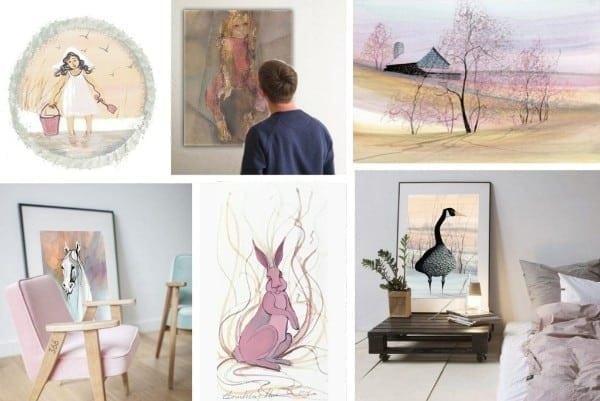 art-gallery-framed-limitededition-print-pbuckleymoss-goose-bunny-children