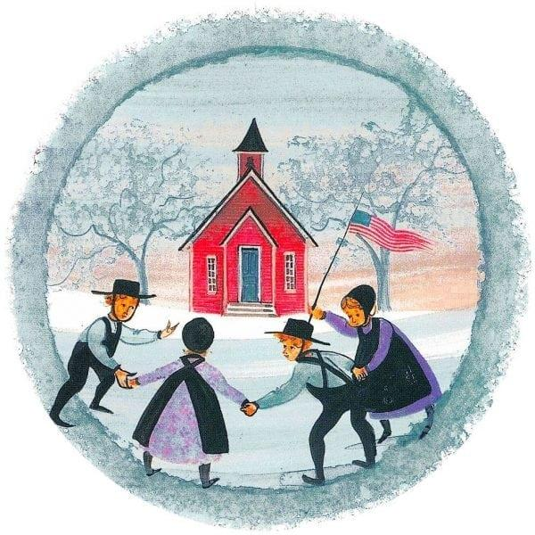 Waynesville-Ohio-PBuckleyMoss-Ornament-LimitedEdition-School-Friends-Virginia