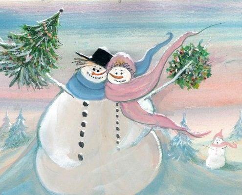 Snowman-Winter-PBuckleyMoss-LimitedEdition-Print-Art-WaynesvilleOhio-CanadaGooseGallery