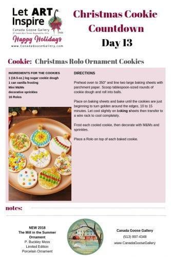CanadaGooseGallery-WaynesvilleOhio-Cookie-Christmas-PBuckleyMoss-Ornament