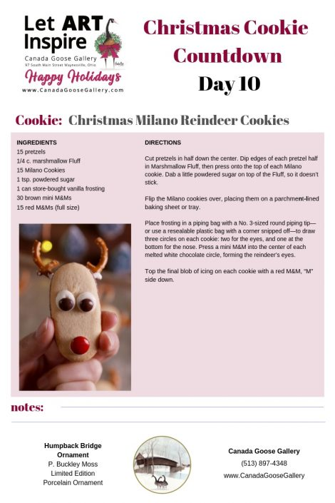 CanadaGooseGallery-WaynesvilleOhio-cookie-recipe-baking-cooking-Christmas-TwelveDays