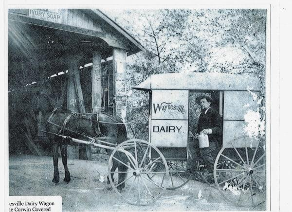 Waynesville Dairy Horse and Buggy