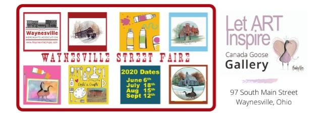 Waynesville Street Faire hosts four events in the Summer months, June, July, August and September with vendors in the street, music and food booths.