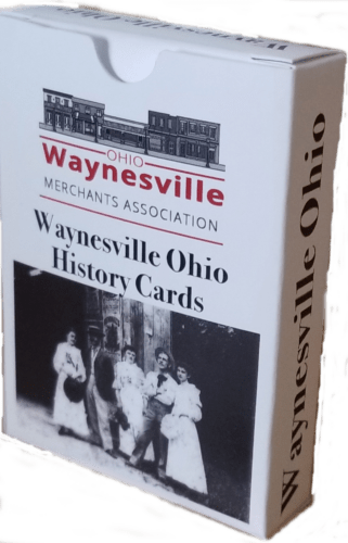 Waynesville History Cards featuring the many historic buildings in Waynesville Ohio